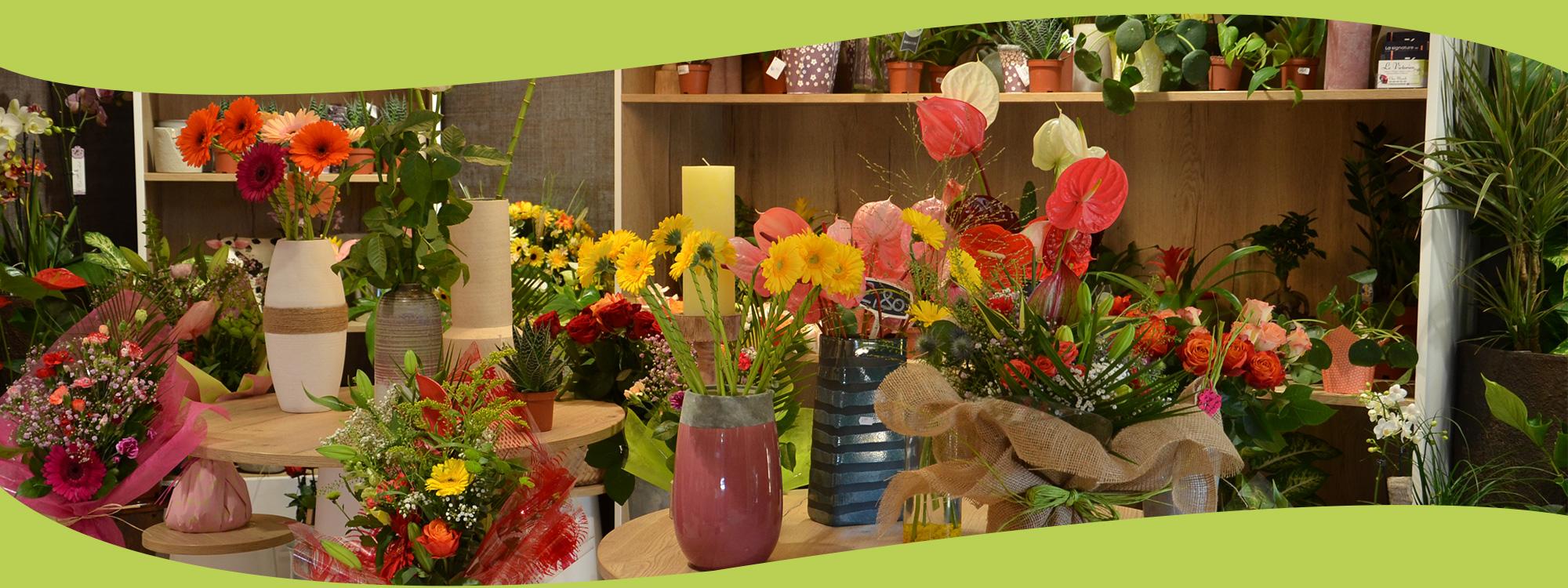 Fleuriste le victorien livraison de fleurs deuils for Commande plantes par correspondance